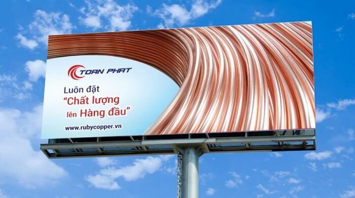 Bảng quảng cáo sáng nền, mẫu bảng hiệu đẹp nhất