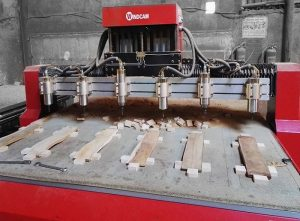 Bộ phận trục của máy CNC không hoạt động hoặc di chuyển không đúng quy luật