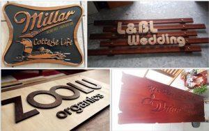 Phước Tiến Phát thi công bảng hiệu gỗ chất lượng, giá rẻ